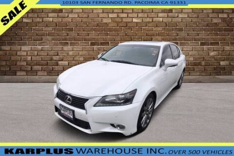 2013 Lexus GS 350 for sale at Karplus Warehouse in Pacoima CA