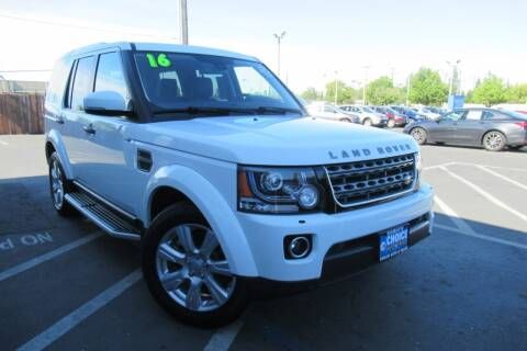 2016 Land Rover LR4 for sale at Choice Auto & Truck in Sacramento CA