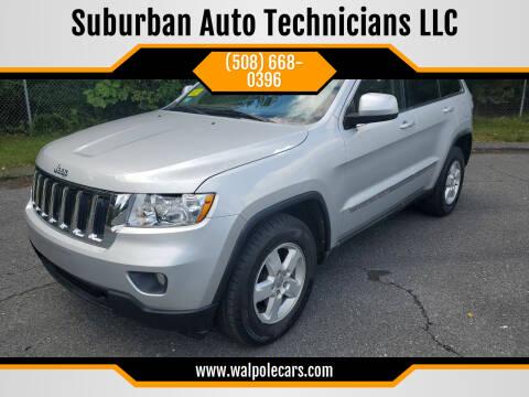 2011 Jeep Grand Cherokee for sale at Suburban Auto Technicians LLC in Walpole MA