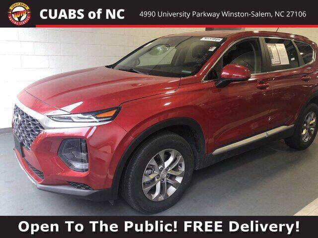 2019 Hyundai Santa Fe for sale at Summit Credit Union Auto Buying Service in Winston Salem NC