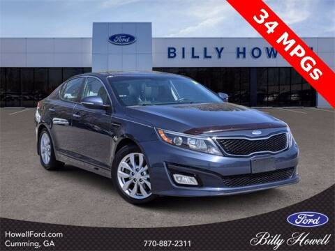 2015 Kia Optima for sale at BILLY HOWELL FORD LINCOLN in Cumming GA