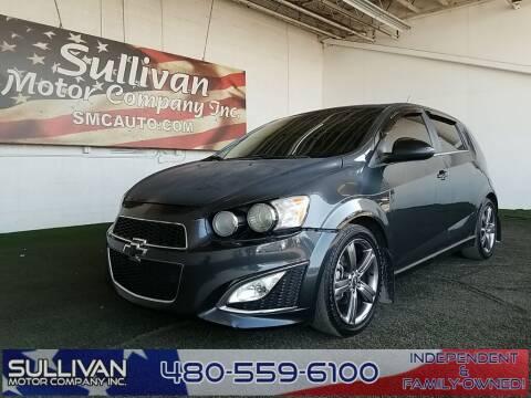 2014 Chevrolet Sonic for sale at TrucksForWork.net in Mesa AZ