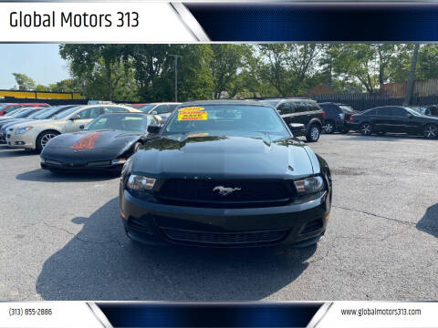 2010 Ford Mustang for sale at Global Motors 313 in Detroit MI
