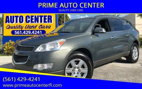 2011 Chevrolet Traverse for sale at PRIME AUTO CENTER in Palm Springs FL