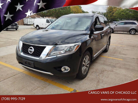 2014 Nissan Pathfinder for sale at Cargo Vans of Chicago LLC in Mokena IL