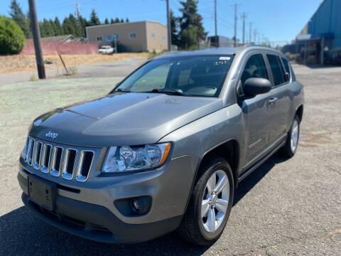 2011 Jeep Compass for sale at Washington Auto Sales in Tacoma WA