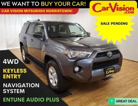 2019 Toyota 4Runner for sale at Car Vision Mitsubishi Norristown in Trooper PA