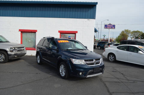2014 Dodge Journey for sale at CARGILL U DRIVE USED CARS in Twin Falls ID