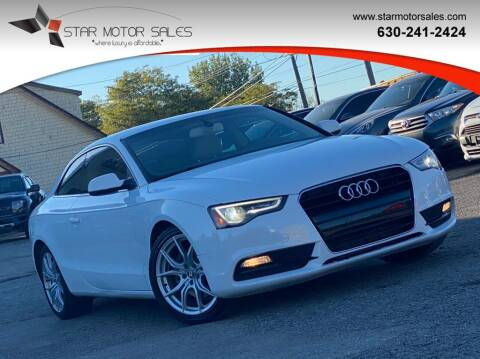 2014 Audi A5 for sale at Star Motor Sales in Downers Grove IL