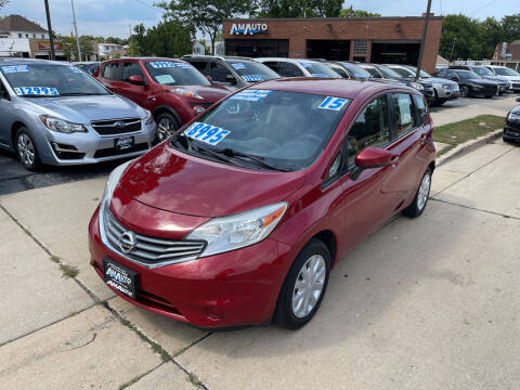2015 Nissan Versa Note for sale at AM AUTO SALES LLC in Milwaukee WI