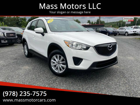 2014 Mazda CX-5 for sale at Mass Motors LLC in Worcester MA