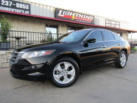 2012 Honda Crosstour for sale at Lightning Motorsports in Grand Prairie TX
