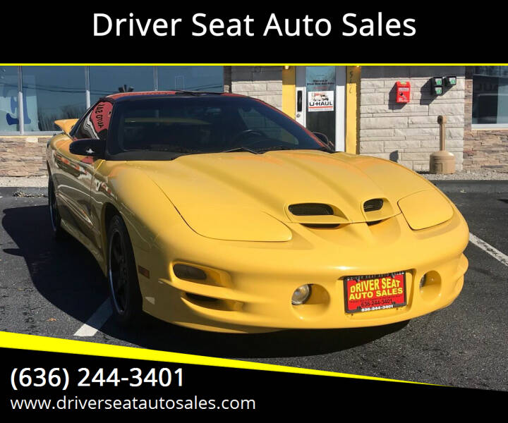 2002 Pontiac Firebird for sale at Driver Seat Auto Sales in St. Charles MO