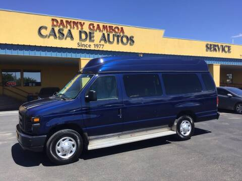 2011 Ford E-Series Wagon for sale at CASA DE AUTOS, INC in Las Cruces NM