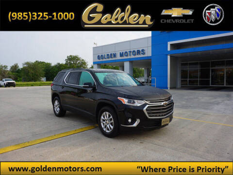 2019 Chevrolet Traverse for sale at GOLDEN MOTORS in Cut Off LA