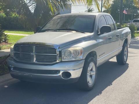 2008 Dodge Ram Pickup 1500 for sale at L G AUTO SALES in Boynton Beach FL