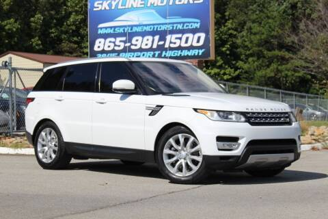 2016 Land Rover Range Rover Sport for sale at Skyline Motors in Louisville TN