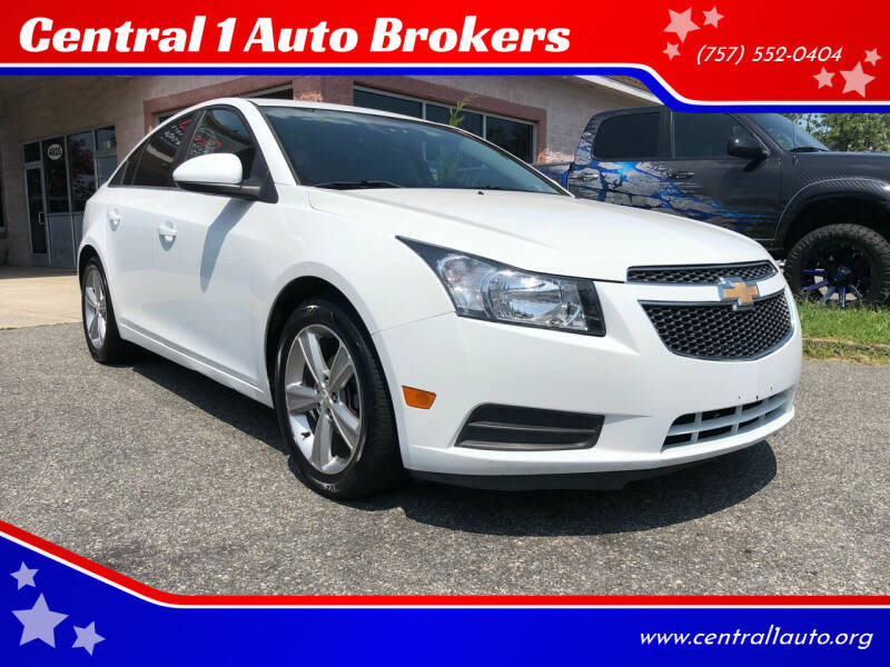 2012 Chevrolet Cruze for sale at Central 1 Auto Brokers in Virginia Beach VA