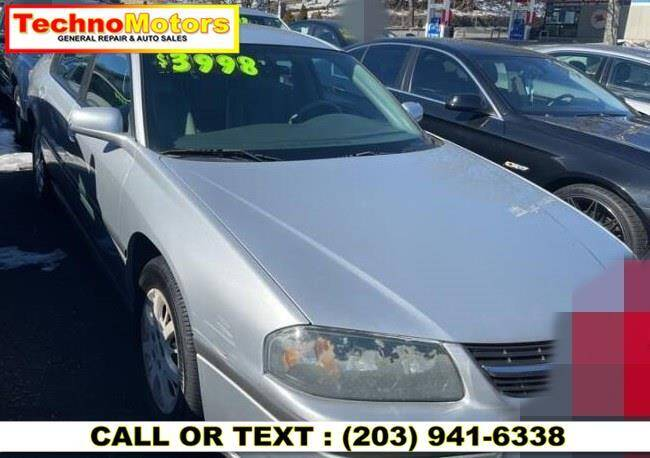 2004 Chevrolet Impala for sale at Techno Motors in Danbury CT