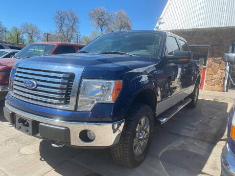 2010 Ford F-150 for sale at PYRAMID MOTORS AUTO SALES in Florence CO