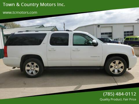 2010 GMC Yukon XL for sale at Town & Country Motors Inc. in Meriden KS