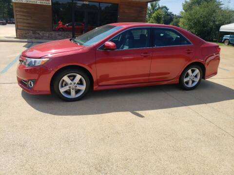 2012 Toyota Camry for sale at Crossroads Outdoor in Corinth MS