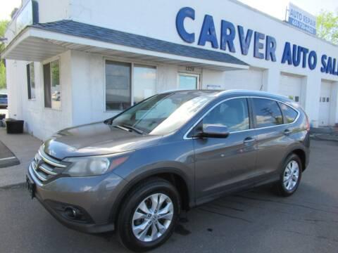 2013 Honda CR-V for sale at Carver Auto Sales in Saint Paul MN
