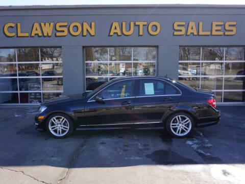 2014 Mercedes-Benz C-Class for sale at Clawson Auto Sales in Clawson MI