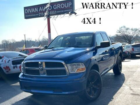 2009 Dodge Ram Pickup 1500 for sale at Divan Auto Group in Feasterville PA