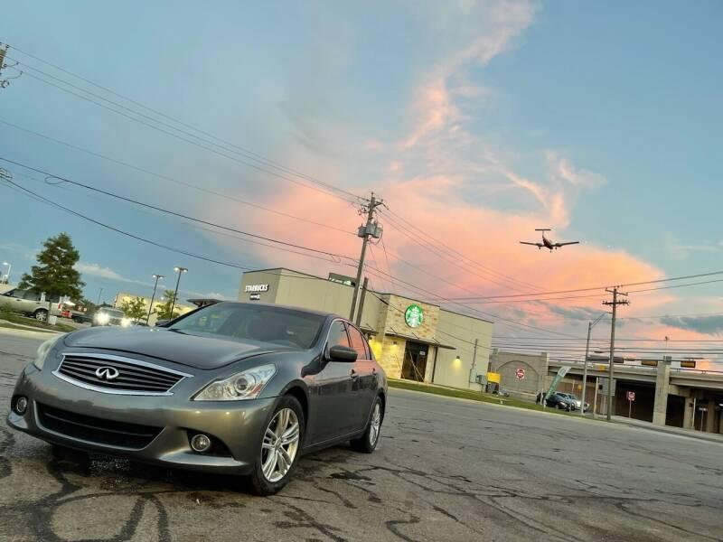 2012 Infiniti G37 Sedan for sale at Hatimi Auto LLC in Austin TX