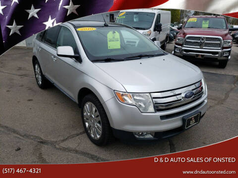 2010 Ford Edge for sale at D & D Auto Sales Of Onsted in Onsted   Brooklyn MI