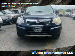 2008 Saturn Vue for sale at Wilson Investments LLC in Ewing NJ
