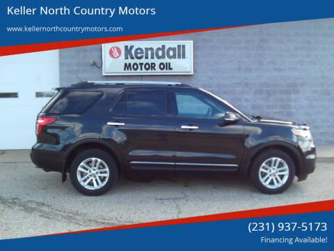 2013 Ford Explorer for sale at Keller North Country Motors in Howard City MI