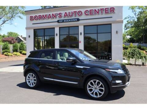 2012 Land Rover Range Rover Evoque for sale at DORMANS AUTO CENTER OF SEEKONK in Seekonk MA