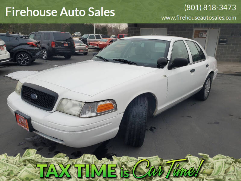 2009 Ford Crown Victoria for sale at Firehouse Auto Sales in Springville UT