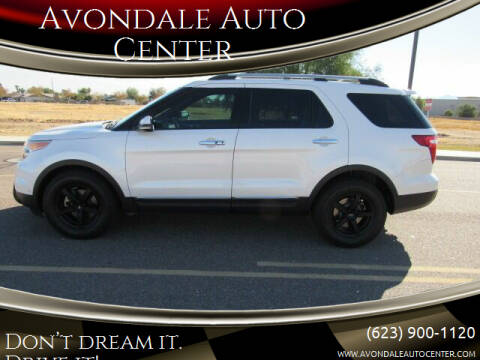 2012 Ford Explorer for sale at Avondale Auto Center in Avondale AZ
