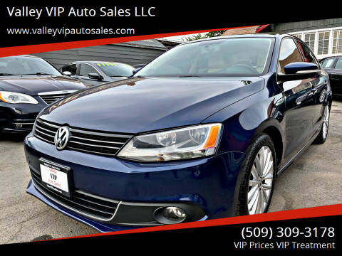 2013 Volkswagen Jetta for sale at Valley VIP Auto Sales LLC in Spokane Valley WA