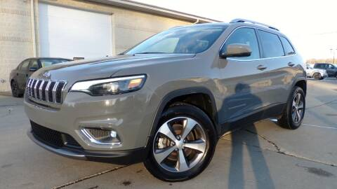 2020 Jeep Cherokee for sale at Prudential Auto Leasing in Hudson OH