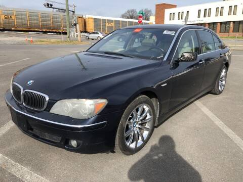 2008 BMW 7 Series for sale at Diana Rico LLC in Dalton GA