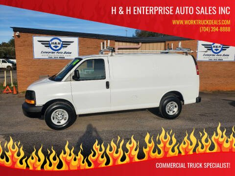 2014 Chevrolet Express Cargo for sale at H & H Enterprise Auto Sales Inc in Charlotte NC