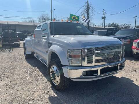 2008 Ford F-450 Super Duty for sale at ALL STAR MOTORS INC in Houston TX