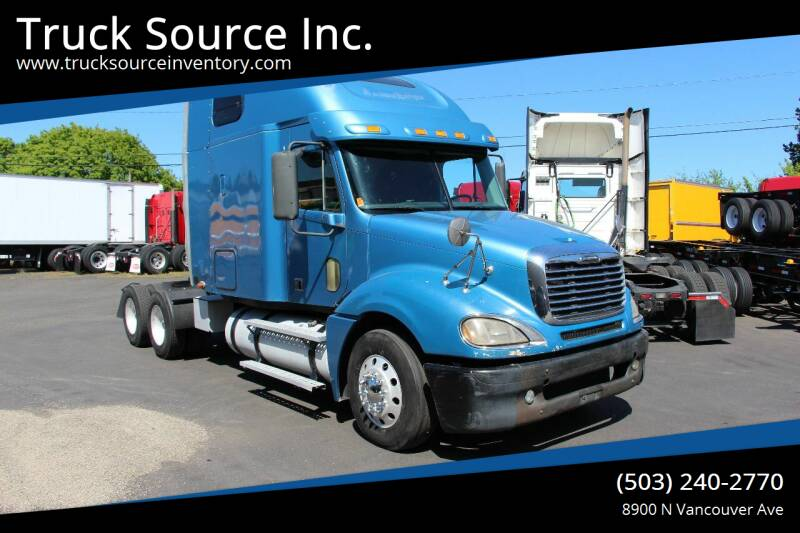 2009 Freightliner Columbia 120 for sale at Truck Source Inc. in Portland OR