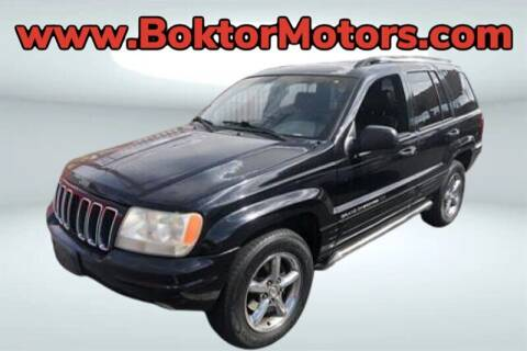 2001 Jeep Grand Cherokee for sale at Boktor Motors in North Hollywood CA