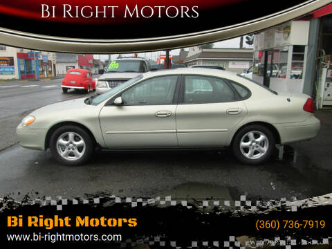 2003 Ford Taurus for sale at Bi Right Motors in Centralia WA