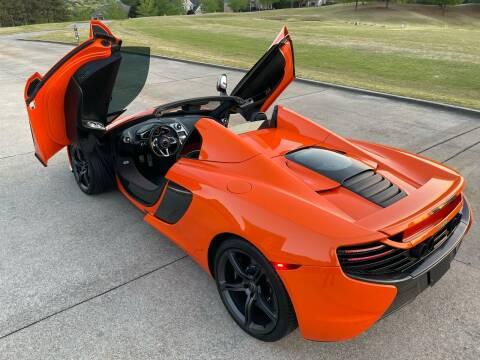 2016 McLaren 650S Spider for sale at Legacy Motor Sales in Norcross GA