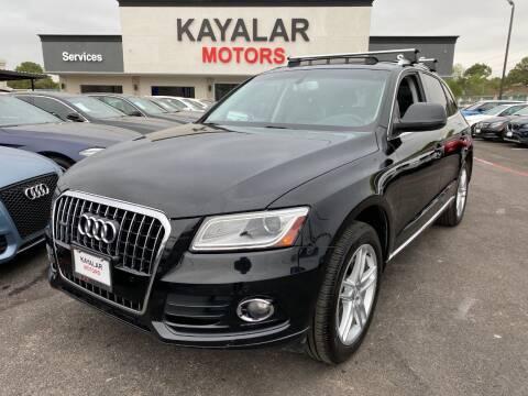 2014 Audi Q5 for sale at KAYALAR MOTORS in Houston TX