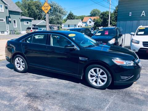2012 Ford Taurus for sale at SHEFFIELD MOTORS INC in Kenosha WI
