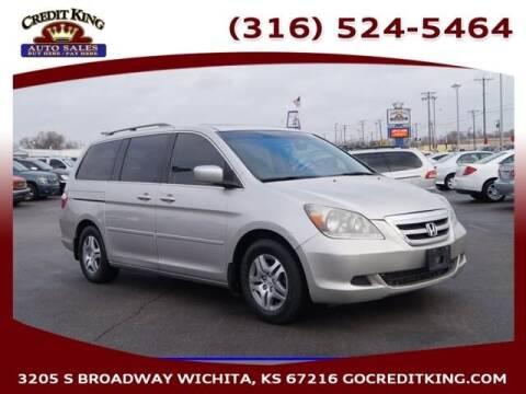 2007 Honda Odyssey for sale at Credit King Auto Sales in Wichita KS
