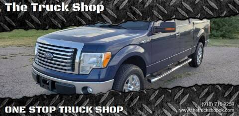 2012 Ford F-150 for sale at The Truck Shop in Okemah OK