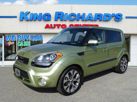 2013 Kia Soul for sale at KING RICHARDS AUTO CENTER in East Providence RI